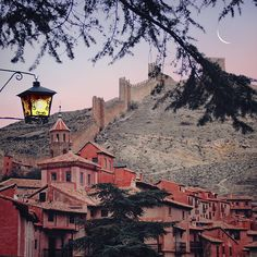 Albarracín, Aragón, Spain photographed by Julia Dávila-Lampe