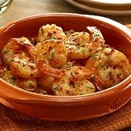 Spanish Garlic Shrimp Andalusian Tapas Recipe with Garlic