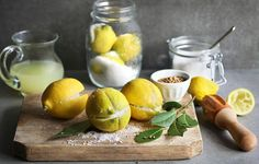 Preserved Lemons http://www.rodalesorganiclife.com/food/23-simple-pickling-and-canning-recipes/slide/7
