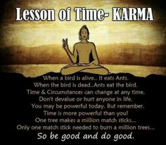 Be good and do good! :)