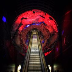 """Journey on the escalator to the centre of the earth anyone? @NHM_London #London"""