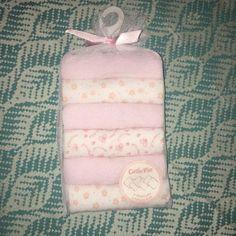 New Baby Girl Washcloths