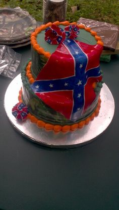 rebel flag wedding cakes 1000 ideas about rebel flag cake on flag cake 18983