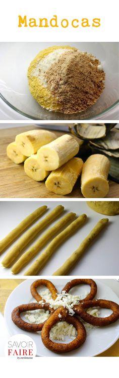 Mandocas: receta de rosquitas de plátano con queso blanco Kitchen Recipes, My Recipes, Sweet Recipes, Snack Recipes, Favorite Recipes, Boricua Recipes, Venezuelan Food, Colombian Food, Latin Food
