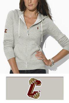Polo Ralph Lauren Womens Classic FullZip Hooded Fleece
