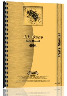 Case 4994 Tractor Parts Manual