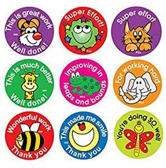 Sticker Solutions Effort and Praise Reward Stickers (Pack of 180) from Amazon