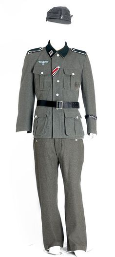 SS Enlisted man uniform for  HIRE TO FILM TV THEATRE ONLY
