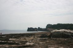 Kapurpurawan Rock Formation (Ilocos Norte) : It was a scorching 35 degrees when we went here. Good thing I have sunblock on and water with me. Ilocos, Rock Formations, When Us, Water, Outdoor, Norte, Gripe Water, Outdoors, Outdoor Games