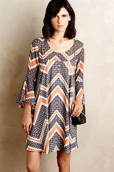 Endora Swing Dress #anthropologie