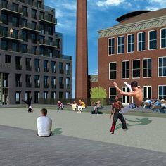 Inrichtingsplan voor het binnenstedelijk plein 'de Machinist' i.o.v. Kristal…