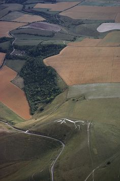 The famed Uffington Photograph - The famed Uffington Fine Art Print