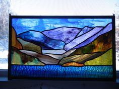 Stained Glass Windows Calgary | Landscapes | Rhonda's Stained Glass