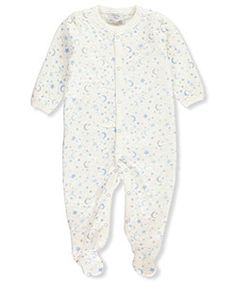 Sterling Baby Baby Boys' Footed Coverall