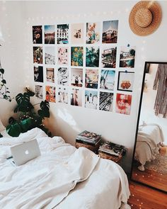 """Room goals! Convert your """"room"""" into """"your room"""" by personalizing it with your photos. Get your favorite photos printed from www.pixylz.com"""