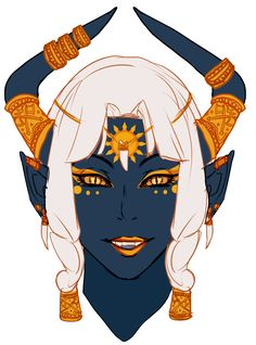 Aaaaaand I have a new d&d character. Because I had five seconds to make her, I ended up blurting out tiefling barbarian. (mechanical regrets) So here she is, barbarian and battle master. She's jolly and seems open, even goofy, but don't be fooled....