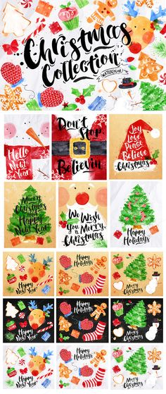 Christmas Collection by Anna on Creative Market