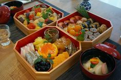 Cooking Room 401 : Foods prepared for New Year's(2015) in Japan