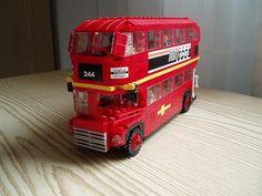 Lego Double Decker bus!