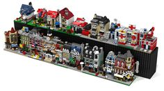 Space savers!!  Not to mention genius maker of these Lego MOC mini's.