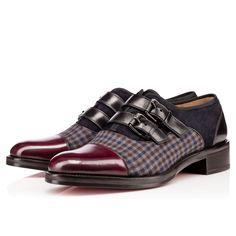 Men Shoes - Omegaboucle Flat Calf /mini Square - Christian Louboutin