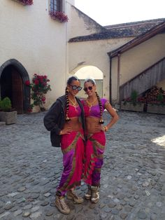 Bollywood movie set comes to the Chateau of Aigle