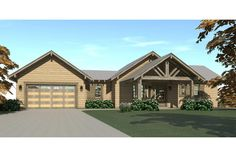 Plans to build a rustic 3 bedroom home with walkout basement. 2200 square feet of living space. Quick digital delivery of plans. Basement House, Walkout Basement, Basement Bedrooms, Basement Ideas, Basement Plans, Basement Renovations, Garage Plans, Cabin House Plans, Craftsman House Plans
