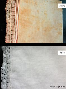 Before and After Using Retro Clean