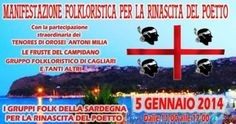 A #Cagliari inizia la manifestazione folkloristica per il Poetto #Sardegna