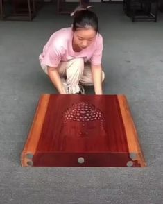 Woodworking Videos, Woodworking Furniture, Diy Furniture, Woodworking Projects, Diy Projects, Carpentry Skills, Got Wood, Wood Crafts, Step By Step Instructions