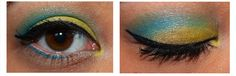 yellow and blue look :)