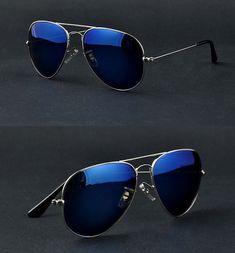 6c33e990b8f Vintage Aviator Style Sunglass Polarized Lenses 16 Colors