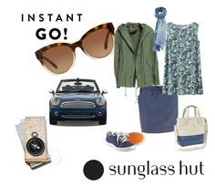 """""""Shades of You: Sunglass Hut Contest Entry"""" by v-gehrig ❤ liked on Polyvore featuring Lee, Michael Kors, L.L.Bean, Uniqlo, Mr & Mrs Italy, 813 Ottotredici and shadesofyou"""