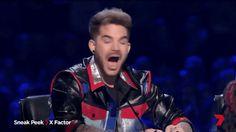 Sneak peak of X Factor Australia feat. Adam Lambert