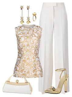 """Sin título #1093"" by marisol-menahem ❤ liked on Polyvore"