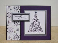 Elegant Christmas Card by cmk7471 - Cards and Paper Crafts at Splitcoaststampers
