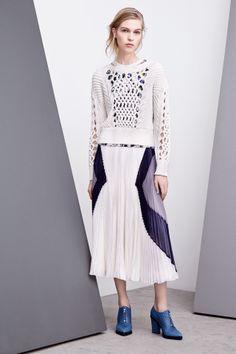 Rebecca Taylor fashion collection, pre-autumn/winter 2014