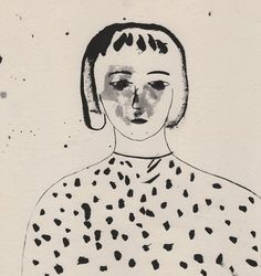 Dotted Girl by Firenze Lai (contemporary), Hong Kong (northmagneticpole)