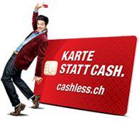 Kontaktlos | cashless.ch