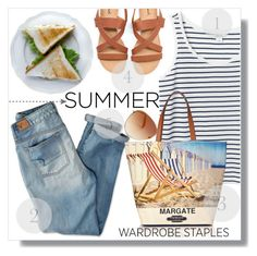 """""""Summer Wardrobe :)"""" by myfashionwardrobestyle ❤ liked on Polyvore featuring American Eagle Outfitters, Tommy Hilfiger, Monki and L.K.Bennett"""