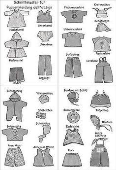 puppenkleidung gratis schnittmuster und kostenlose n hanleitung n hen pinterest baby. Black Bedroom Furniture Sets. Home Design Ideas