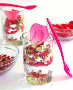 Pomegranate & Rose Yogurt