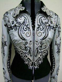 showmanship jacket | Dardar8*Dardar Pleasure Jacket Shirt Showmanship Top for sale