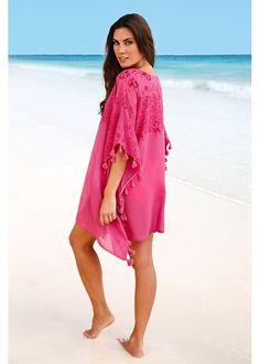 Τουνίκ για την παραλία Φούξια bpc selection bonprix collection  49d8bf316b8