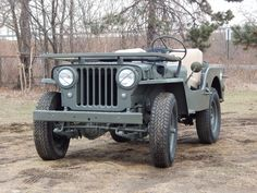 Jeep Discover No Reserve: 1949 Willys Bid for the chance to own a No Reserve: 1949 Willys at auction with Bring a Trailer the home of the best vintage and classic cars online. Lifted Chevy Trucks, Dodge Trucks, Jeep Truck, Pickup Trucks, Truck Drivers, Cj Jeep, Jeep Cj7, Mahindra Jeep, Rat Rod Pickup