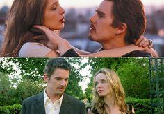 before sunrise / before sunset    Dois dos melhores filmes que já vi...