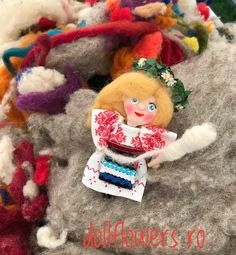Have a colourfull day! Polymer Clay Dolls
