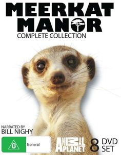 Meerkat Manor Complete Collection. Yes, that's nerdy but I loved this show!