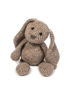 Mesmerizing Crochet an Amigurumi Rabbit Ideas. Lovely Crochet an Amigurumi Rabbit Ideas. Bunny Crochet, Crochet Mignon, Easter Crochet, Cute Crochet, Crochet Animals, Crochet Crafts, Knit Crochet, Crochet Kits, Crochet Patterns Amigurumi