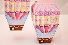 Balão de ar quente | Tema Pequenos Celebrações da Vida Pouco CelebrationsLife